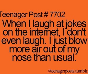 funny, teenager post, and joke image