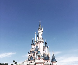 blue sky, Dream, and disneyland paris image