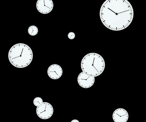 overlay, png, and clock image
