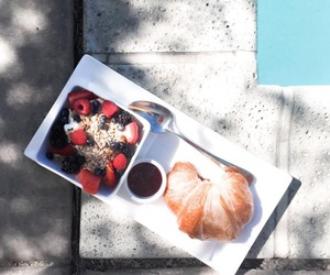 breakfast, delicious, and summer image