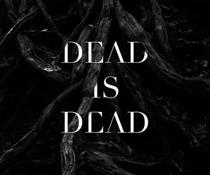 black and dead image