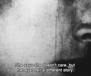 care, girl, and sadness image
