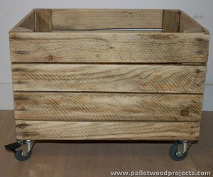 pallet toy box, pallet chest ideas, and pallet chest plans image