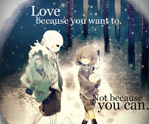anime, quotes, and sans image
