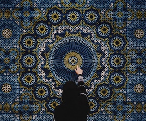 blue and islam image