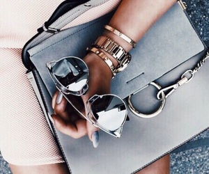 bag, goals, and sunglasses image
