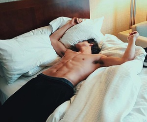 abs, beauty, and sleep image