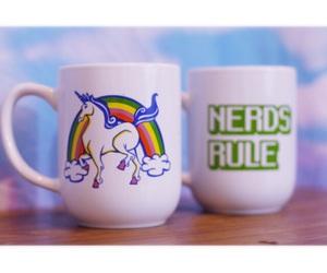 kawaii, mugs, and unicorns image