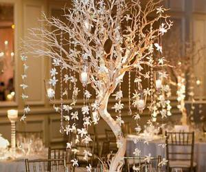 wedding, tree, and decor image