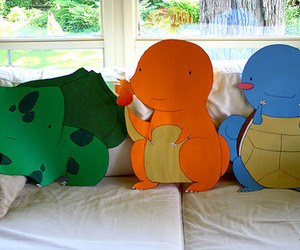 pokemon, bulbasaur, and charmander image