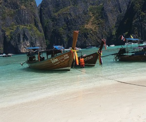 thailand, my photo, and phi phi island image
