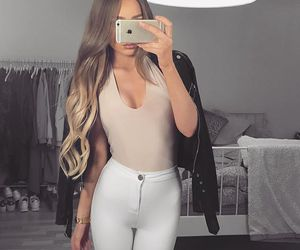girly, lovely, and outfit image
