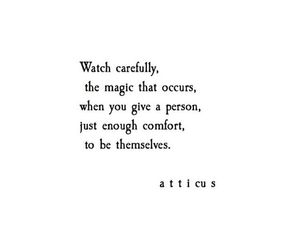quotes, atticus, and magic image