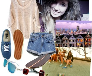 girl, Polyvore, and house image