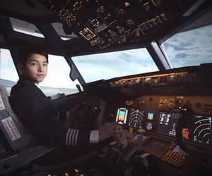 airplanes, black, and fashion image