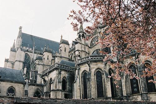 vintage, architecture, and castle image