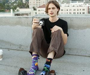 matthew gray gubler, socks, and criminal minds image