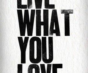love, quote, and live image