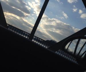 beautiful, bridge, and sky image