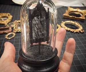frame, macabre, and miniature image