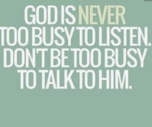 busy, faith, and god image