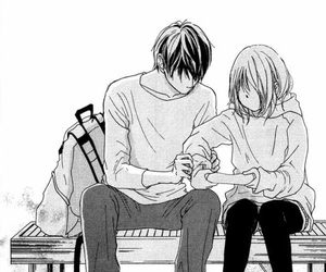 manga, love, and couple image
