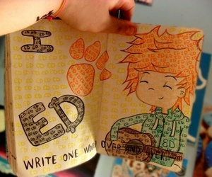ed sheeran, wreck this journal, and ed image