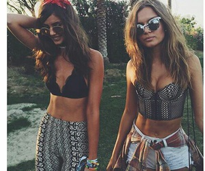 coachella, friends, and model image