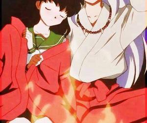 inuyasha, kagome, and anime image