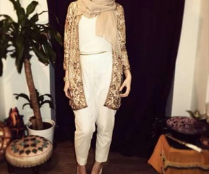 beige and hijab image