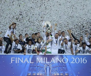 real madrid and champions league image