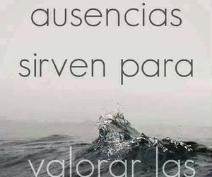 absence, frases, and valorar image