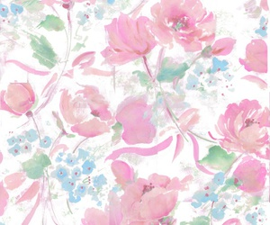 floral, flowers, and patterns image