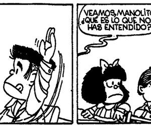 humor, mafalda, and historietas image