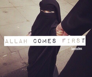 hijab, quotes, and islam image
