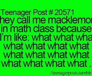 funny, macklemore, and math image