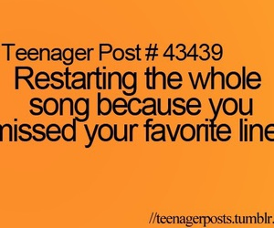 song, teenager post, and music image