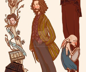 harry potter, sirius black, and book image