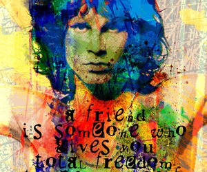 art, freedom, and friend image