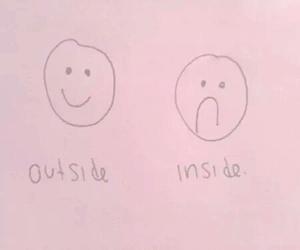 sad, inside, and happy image