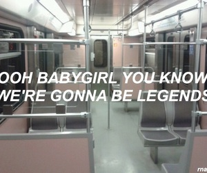 aesthetic, pink, and halsey image