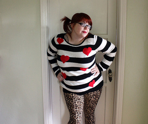 animal print, fatty, and plus size image