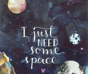 quotes, space, and art image