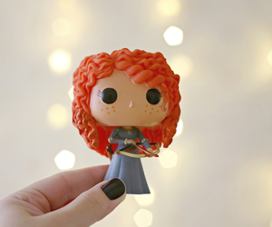 merida, valente, and funko pop image