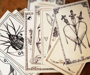 cards, tarot, and magic image