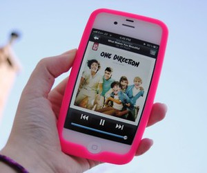 one direction, iphone, and 1d image