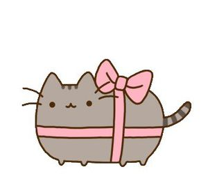 cat, kawaii, and pusheen image