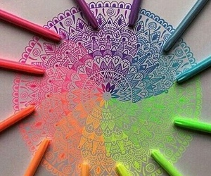 colours and mandalas image