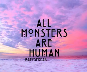 monsters, ahs, and american horror story image