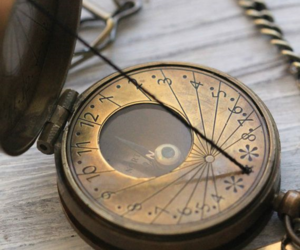 antique, compass, and navigation image